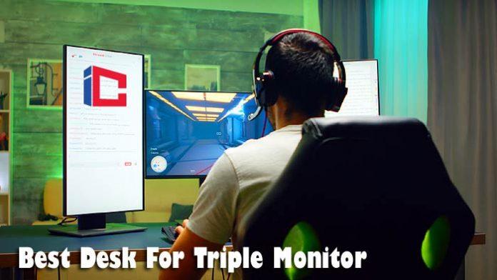 Best Desk For Triple Monitor